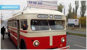 60-ти летний троллейбус Кишинева